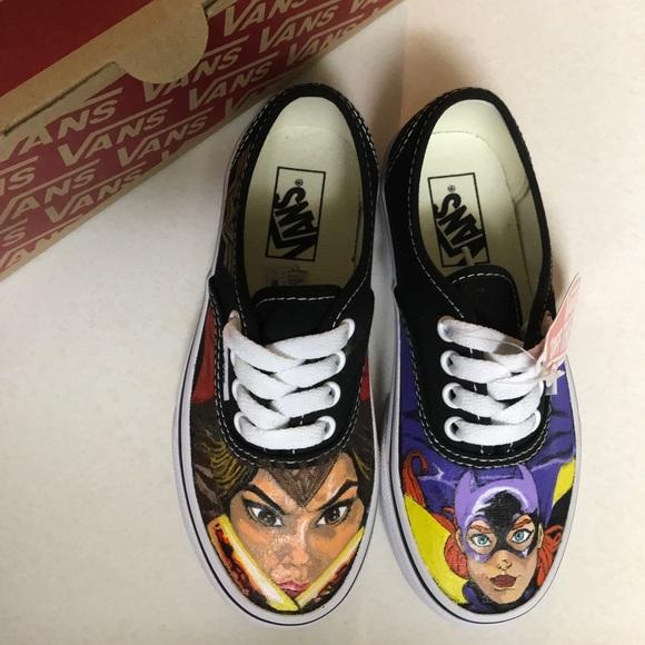 Vans Shoes | Custom Superhero Kids Vans